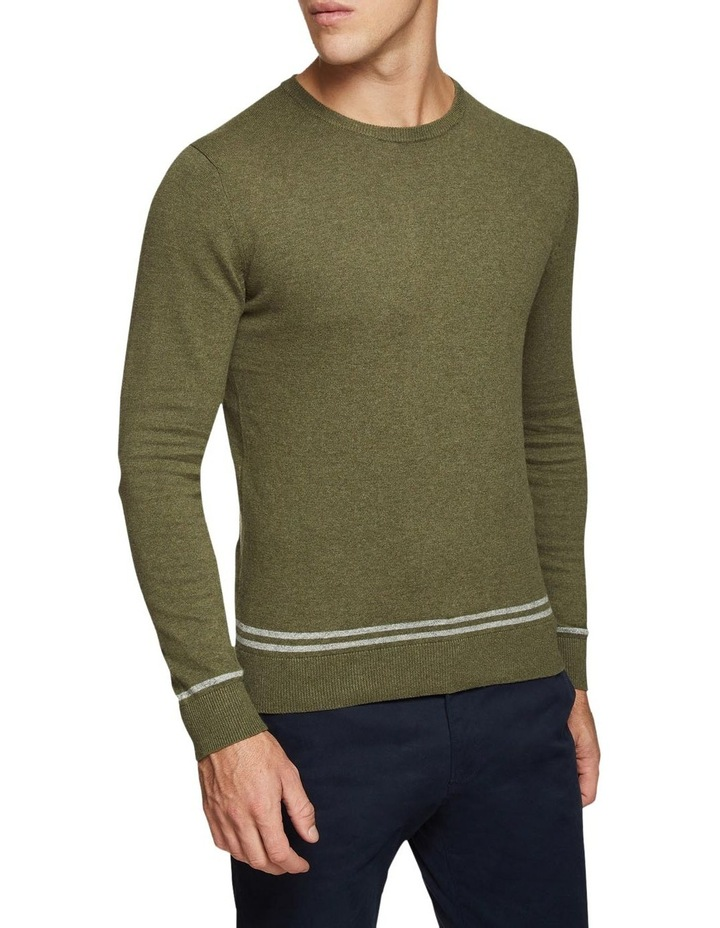 Axel Cotton Crew Neck Pullover image 2