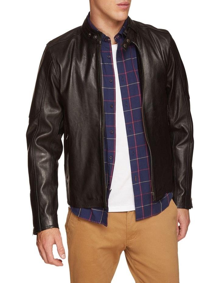 Dean Lambskin Leather Jacket image 1