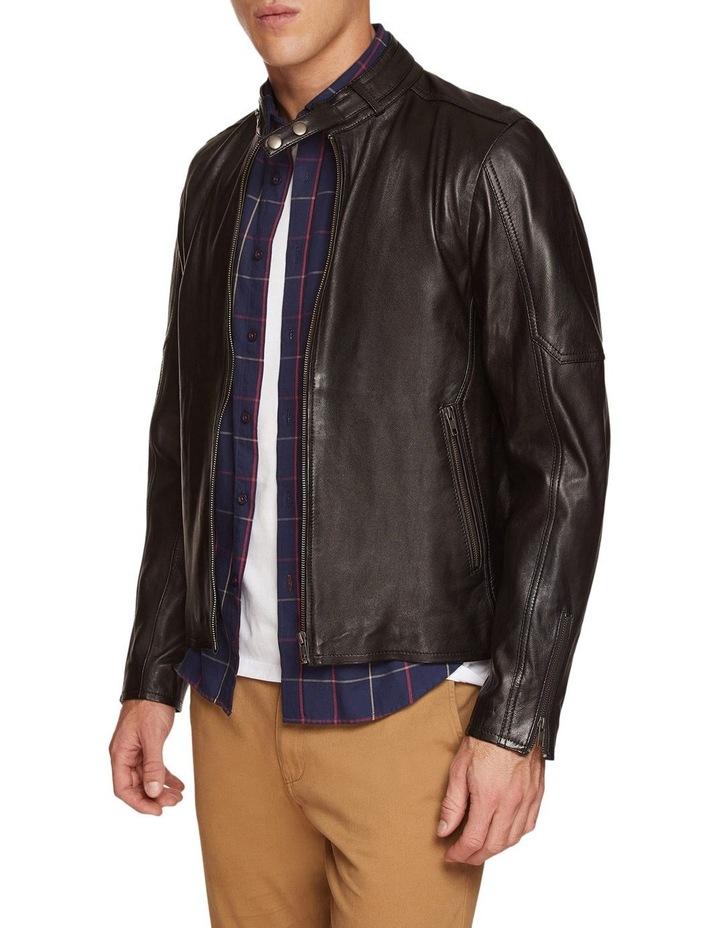 Dean Lambskin Leather Jacket image 2