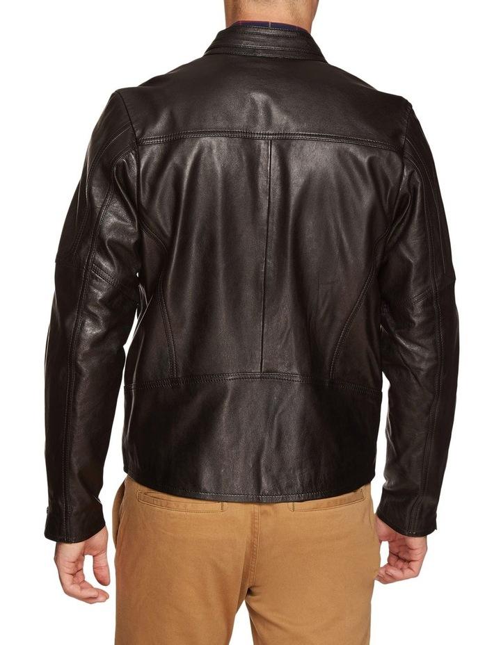 Dean Lambskin Leather Jacket image 3
