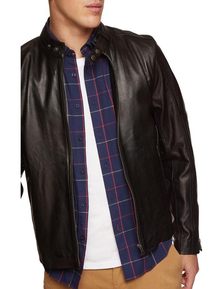 Dean Lambskin Leather Jacket image 4