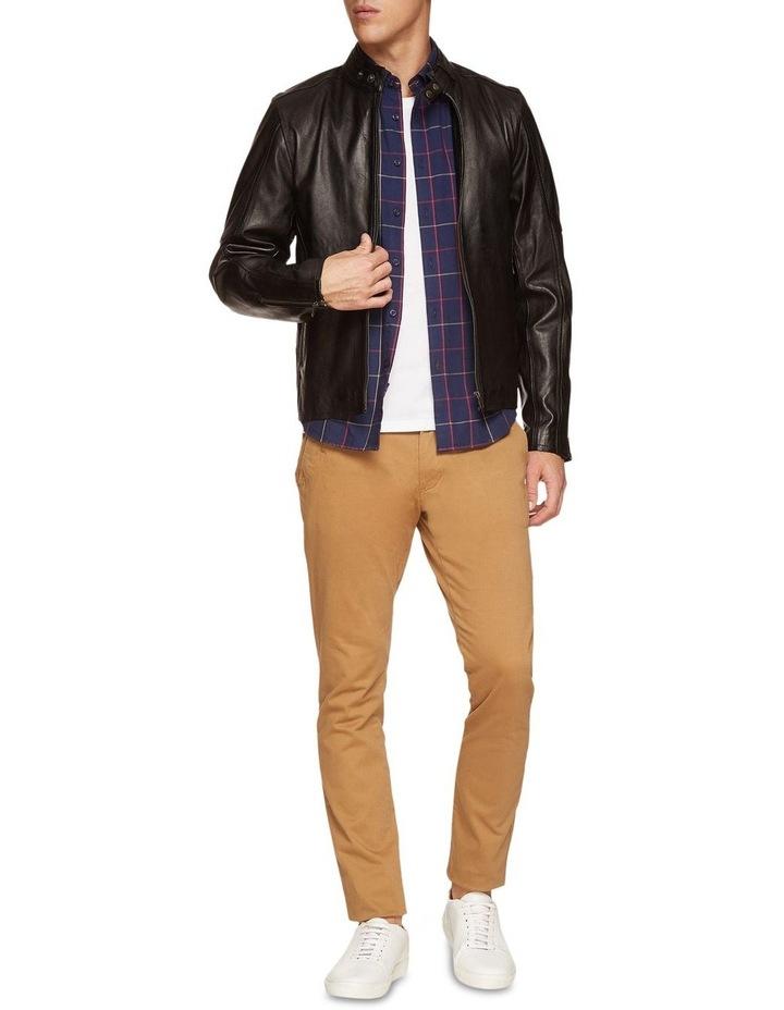 Dean Lambskin Leather Jacket image 5