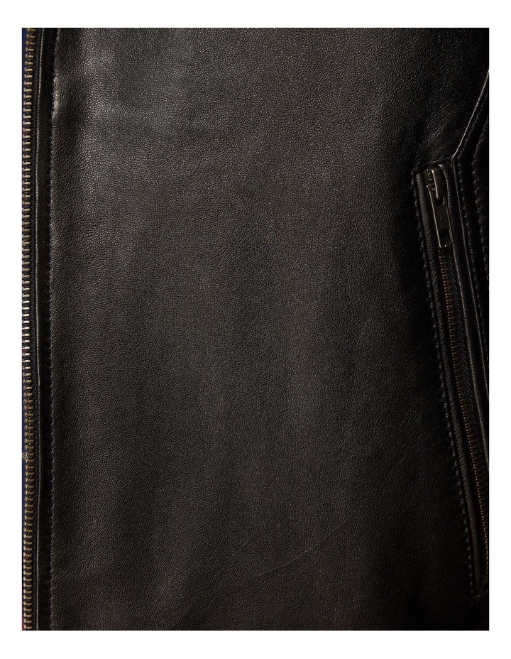 Dean Lambskin Leather Jacket image 6