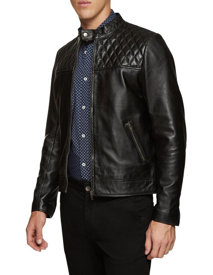 Vinnie Lambskin Leather Jacket image 1