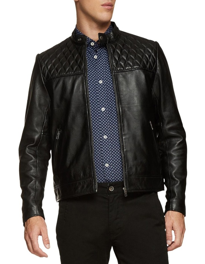 Vinnie Lambskin Leather Jacket image 2