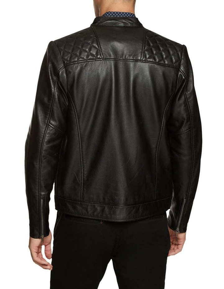 Vinnie Lambskin Leather Jacket image 3