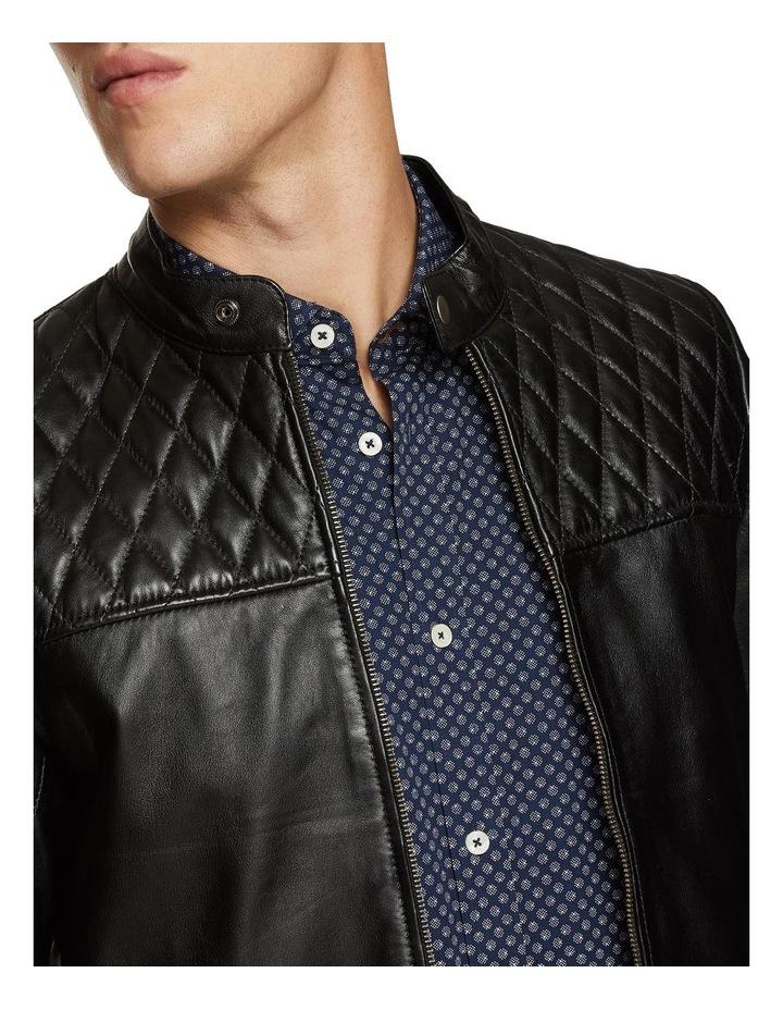 Vinnie Lambskin Leather Jacket image 4