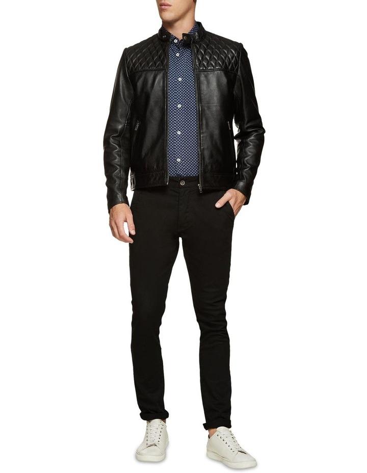Vinnie Lambskin Leather Jacket image 5