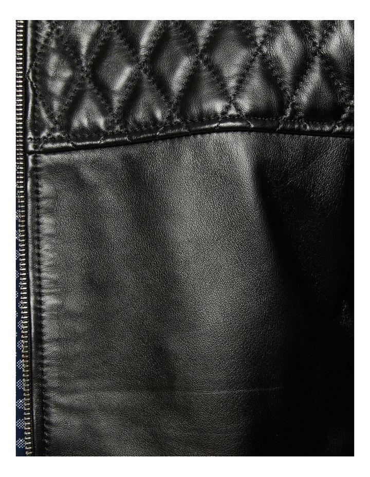 Vinnie Lambskin Leather Jacket image 6