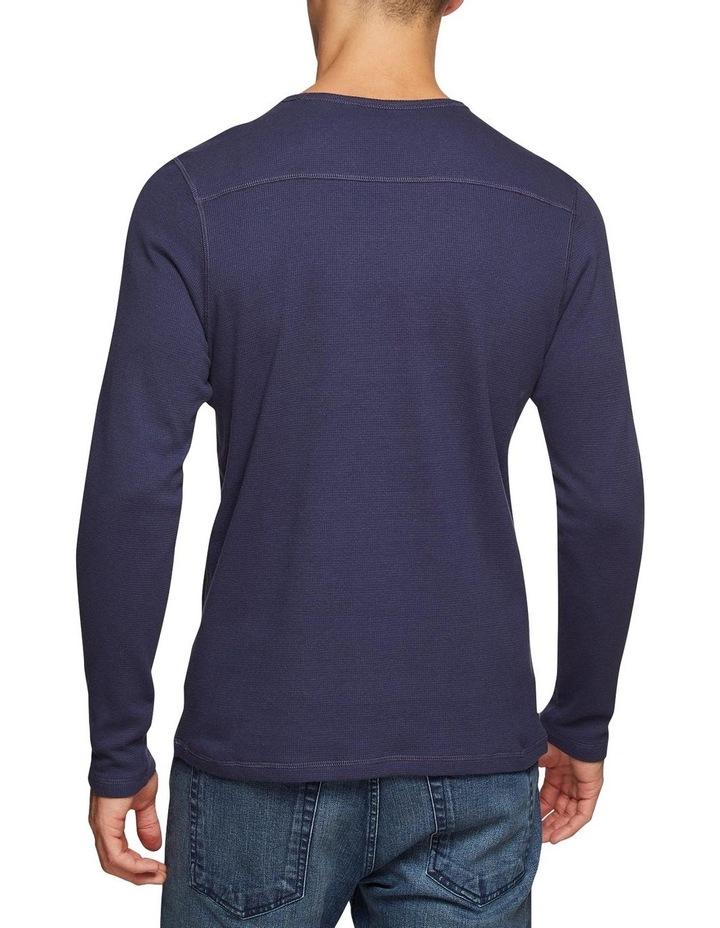 Albert Waffle Long Sleeve T-Shirt image 3