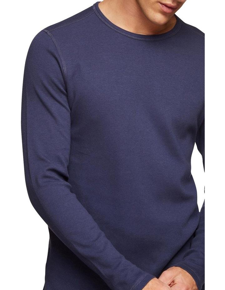 Albert Waffle Long Sleeve T-Shirt image 4