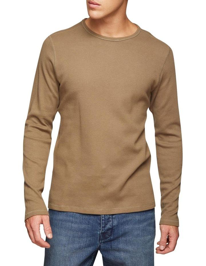 Albert Waffle Long Sleeve T-Shirt image 1