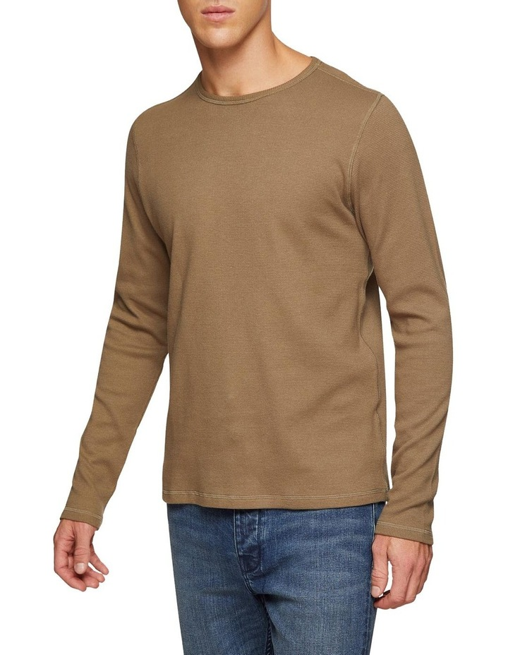 Albert Waffle Long Sleeve T-Shirt image 2