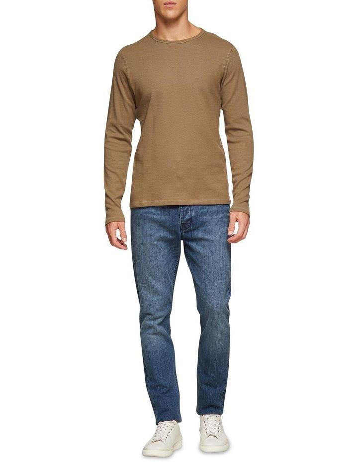 Albert Waffle Long Sleeve T-Shirt image 5