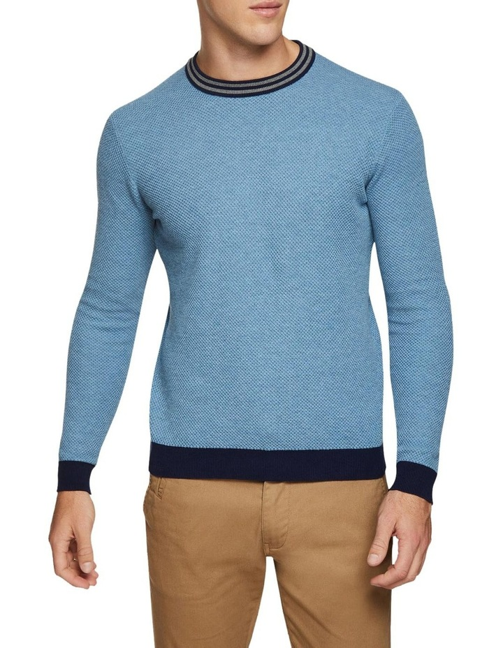 Fred Crew Neck Textured Pullover image 1
