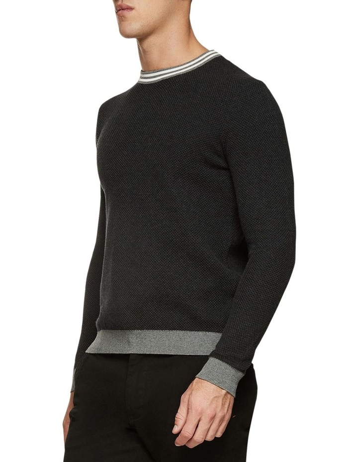 Fred Crew Neck Textured Pullover image 2
