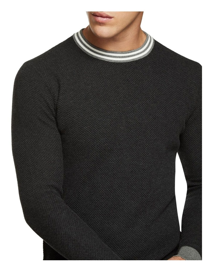 Fred Crew Neck Textured Pullover image 4