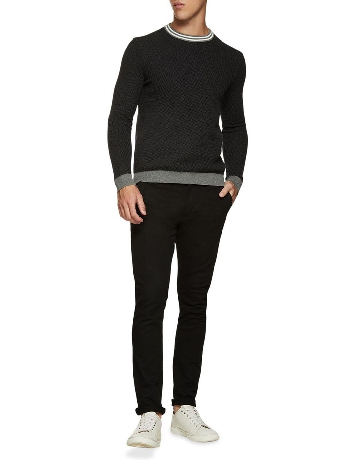 Fred Crew Neck Textured Pullover image 5