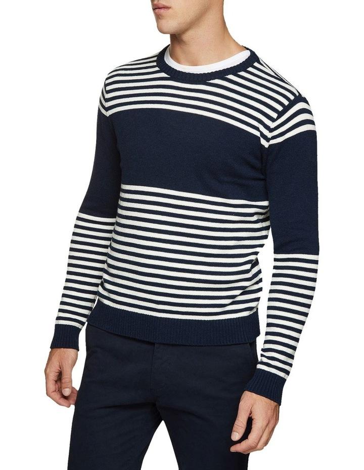 Luka Striped Crew Neck Pullover image 1