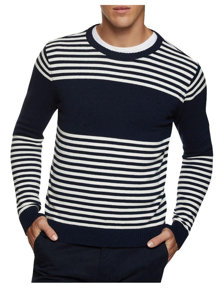 Luka Striped Crew Neck Pullover image 2