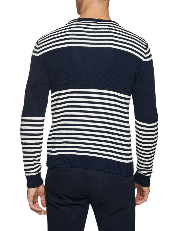 Luka Striped Crew Neck Pullover image 3
