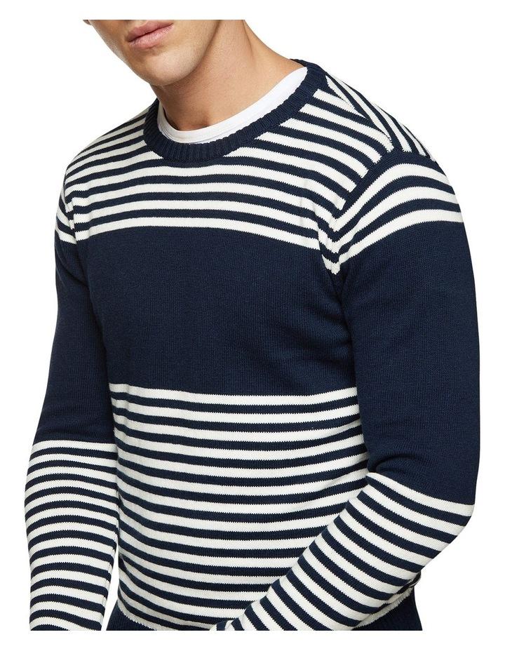 Luka Striped Crew Neck Pullover image 4