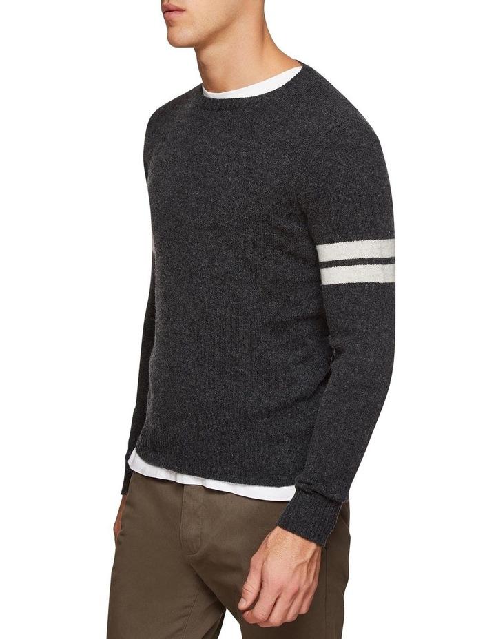 Hartlet Stripe Sleeve Knit image 2