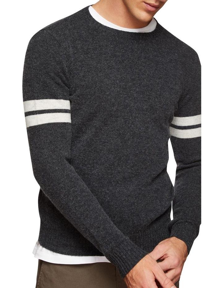 Hartlet Stripe Sleeve Knit image 4