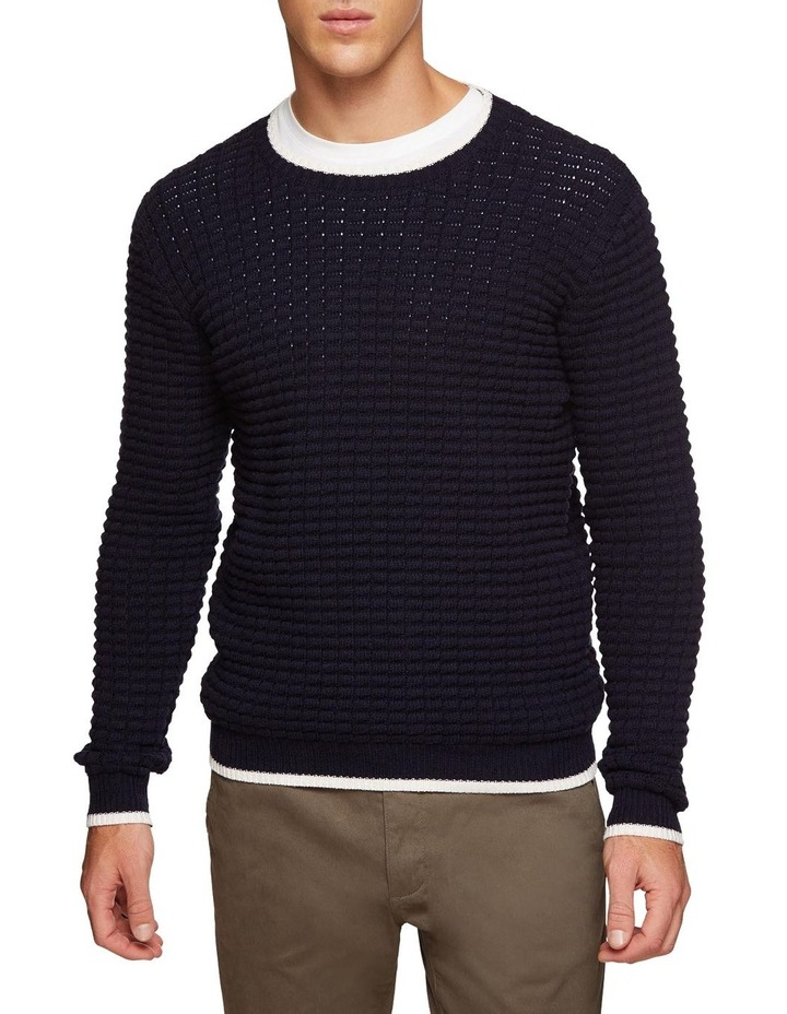 Tommy Waffle Crew Neck Knit image 1