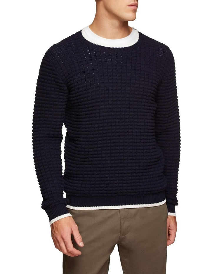 Tommy Waffle Crew Neck Knit image 2