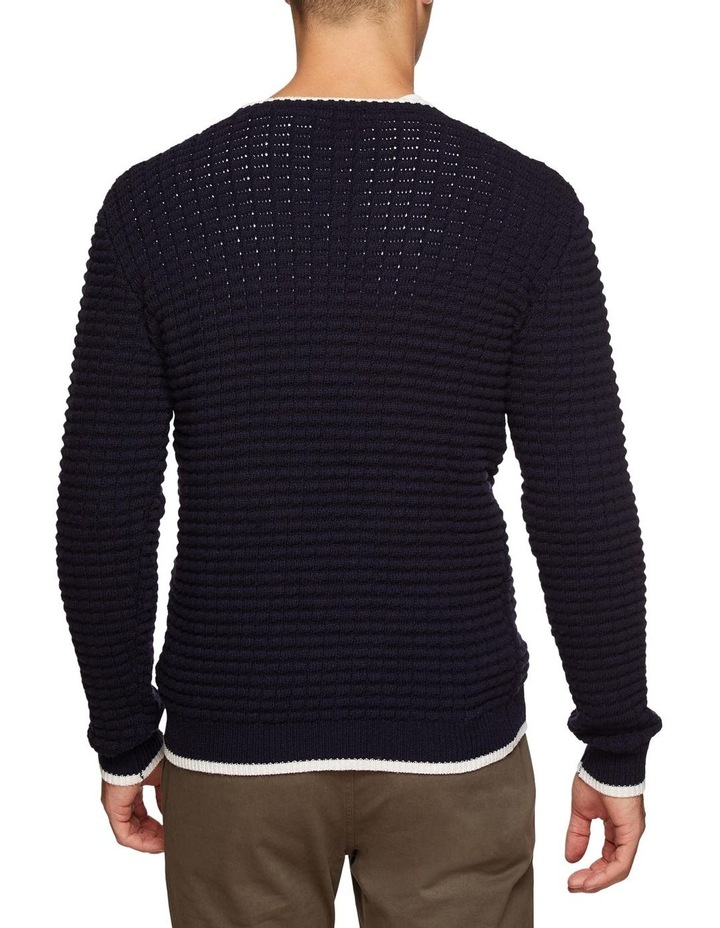 Tommy Waffle Crew Neck Knit image 3