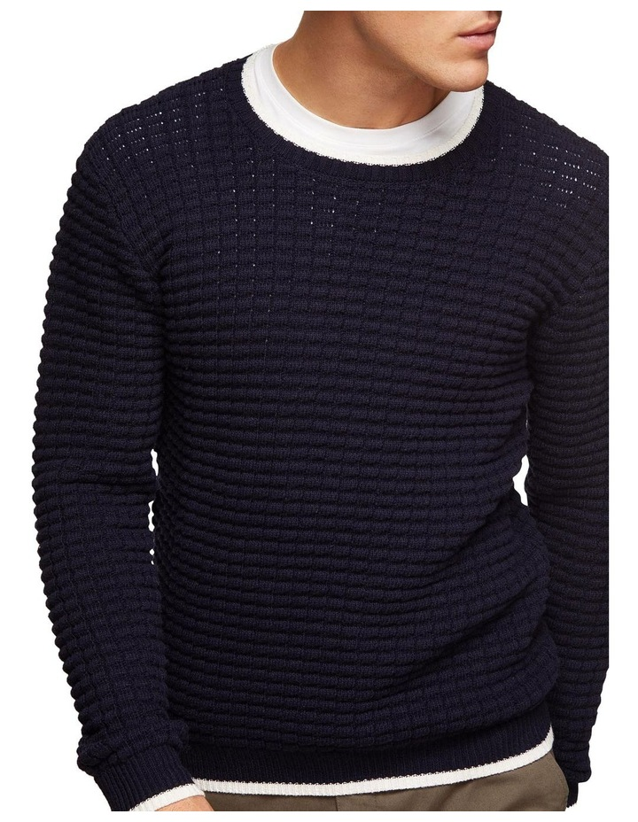 Tommy Waffle Crew Neck Knit image 4