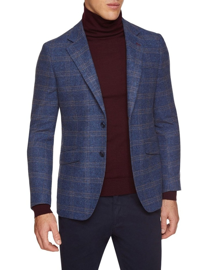 Blake Wool Blend Checked Blazer image 1