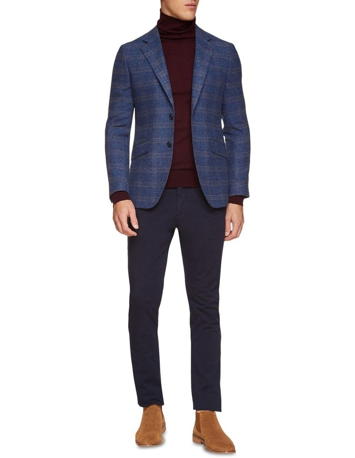 Blake Wool Blend Checked Blazer image 5