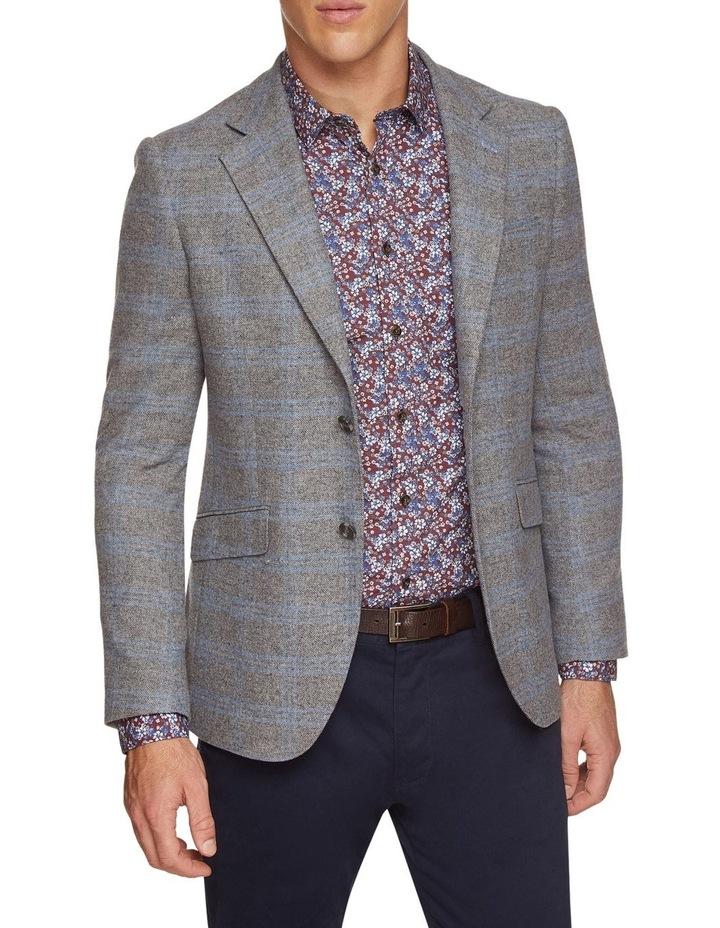 Blake Wool Blend Checked Blazer image 1