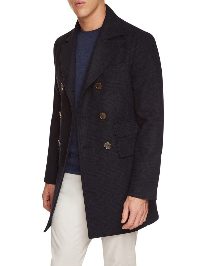 Grant Checked Overcoat image 1