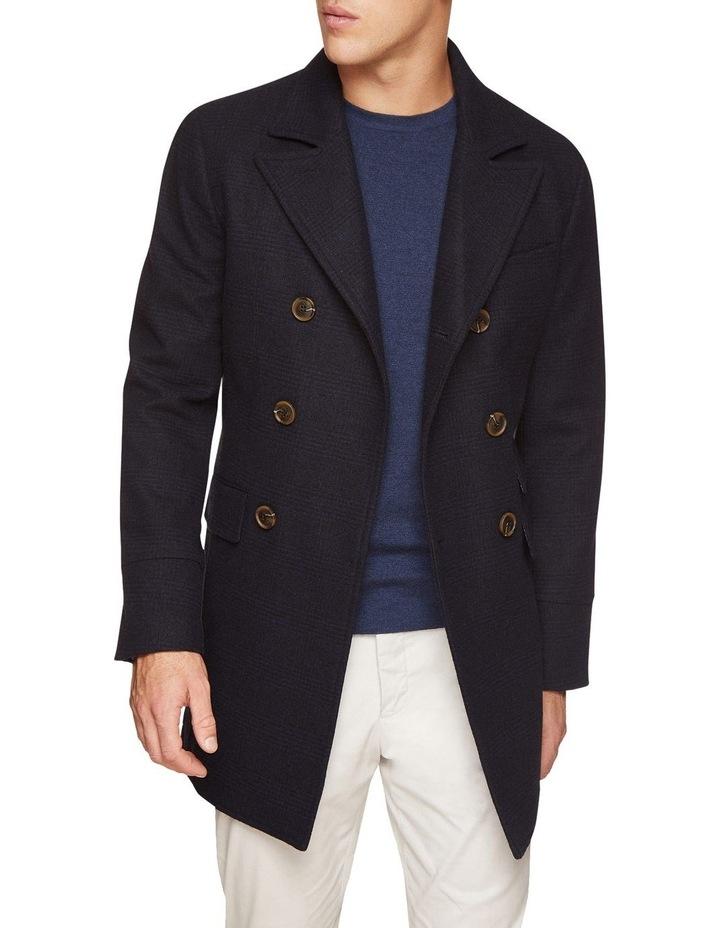 Grant Checked Overcoat image 2