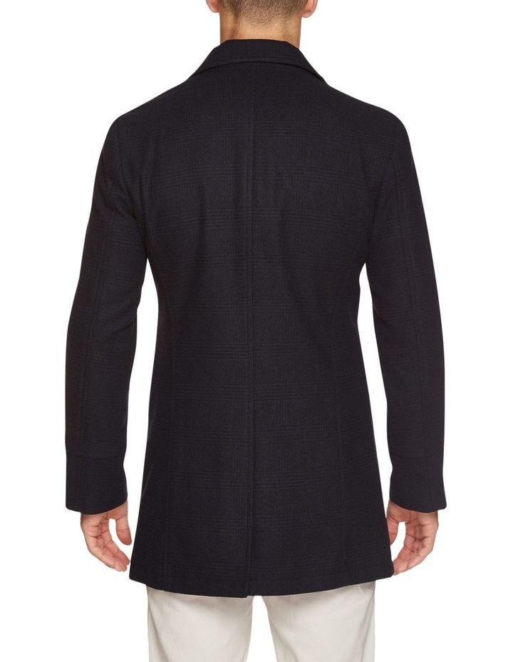 Grant Checked Overcoat image 3
