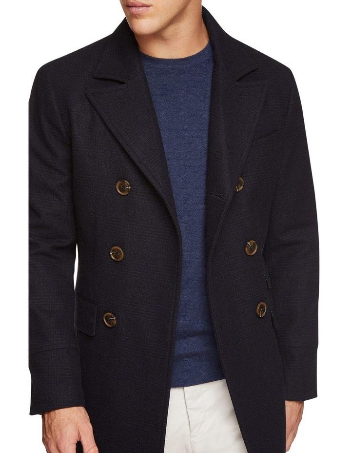 Grant Checked Overcoat image 4