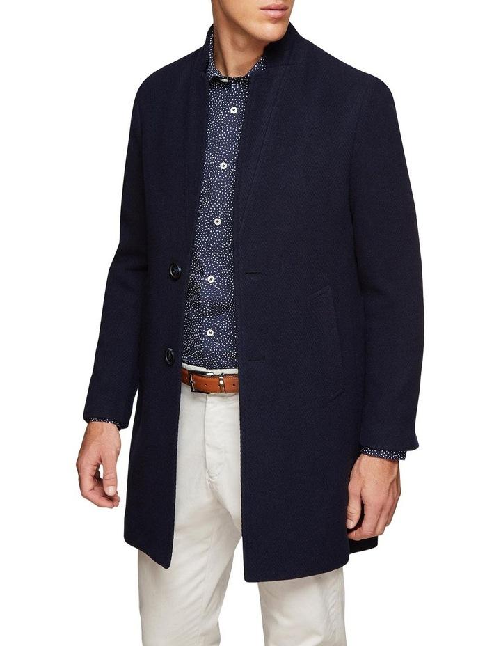 Austin Herringbone Overcoat image 1