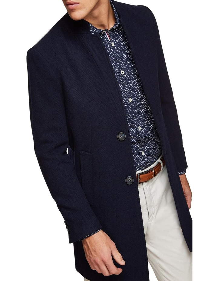 Austin Herringbone Overcoat image 4