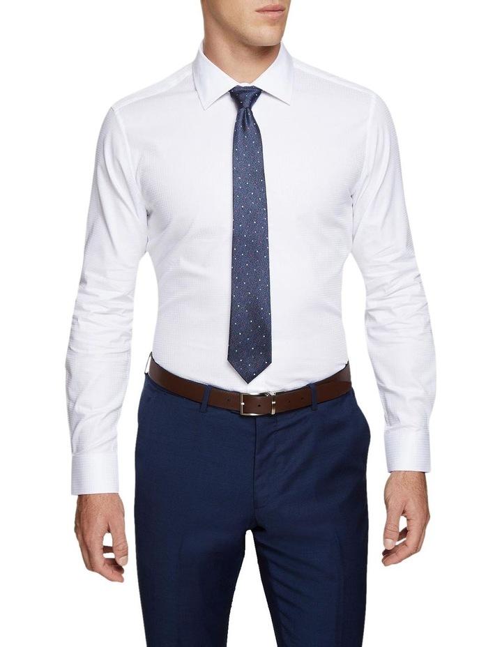 Beckton Dobby White Shirt image 1