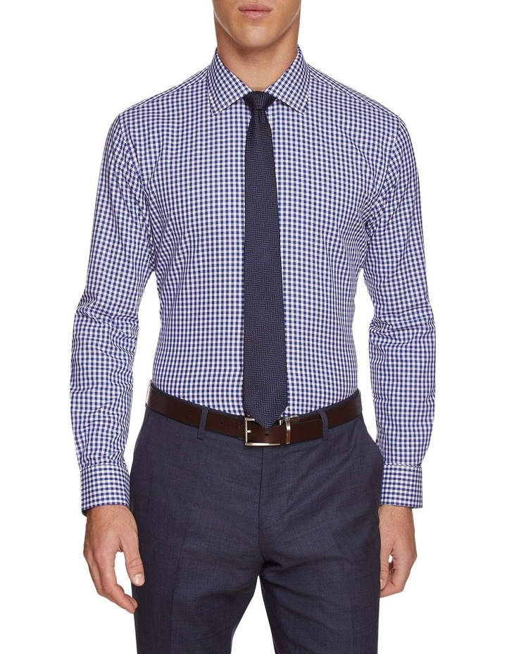 Islington Twill Checked Shirt image 1