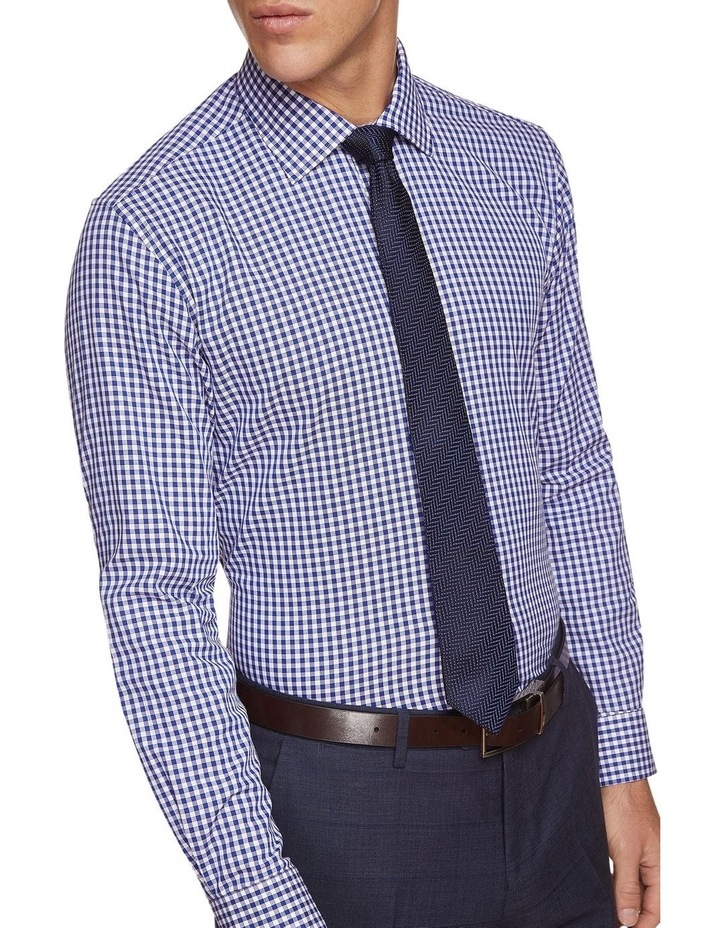 Islington Twill Checked Shirt image 4