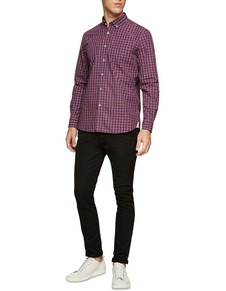 Stratton Regular Fit Checked Shirt image 5