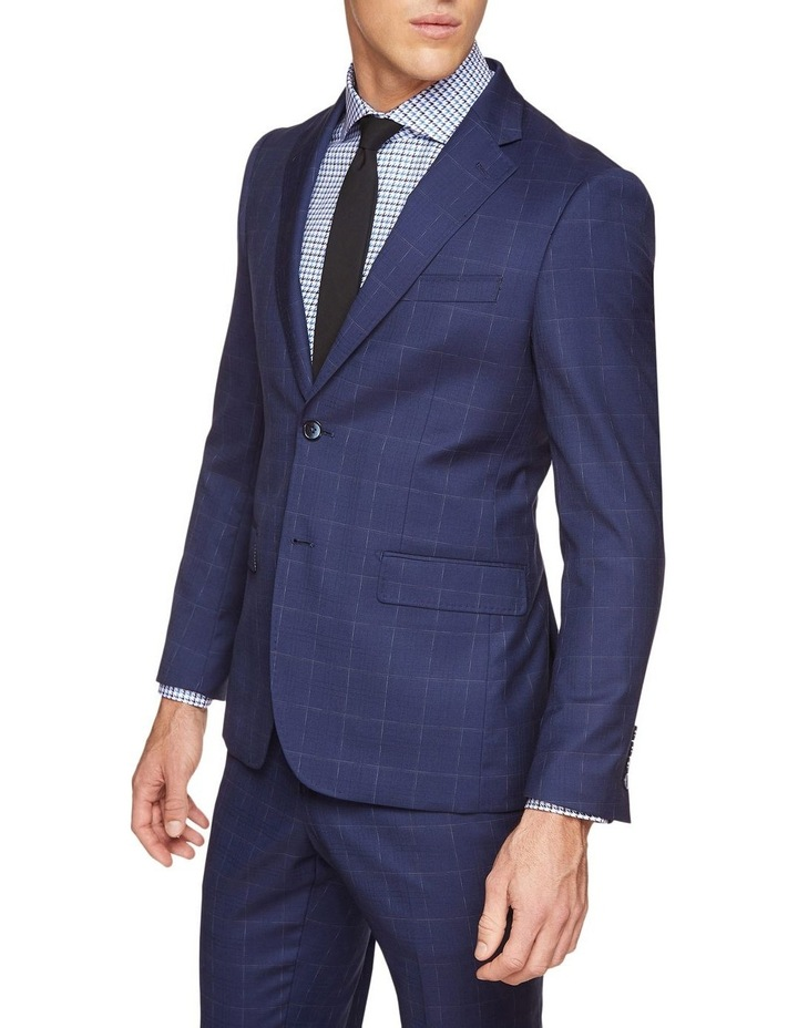 Byron Wool Stretch Checked Jacket image 2