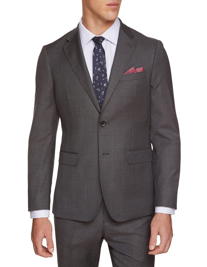 Byron Wool Stretch Checked Jacket image 1