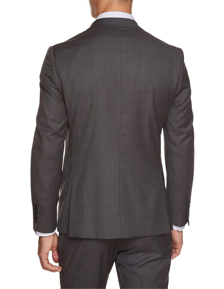 Byron Wool Stretch Checked Jacket image 3