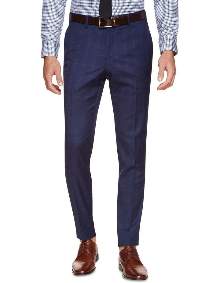 Byron Wool Stretch Check Trousers image 1
