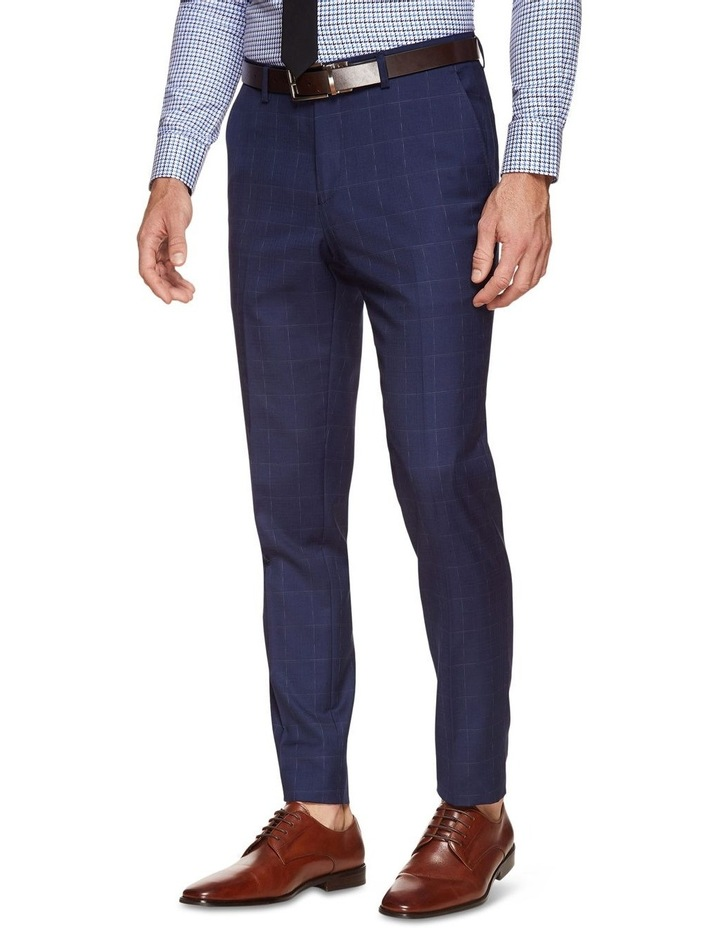 Byron Wool Stretch Check Trousers image 2